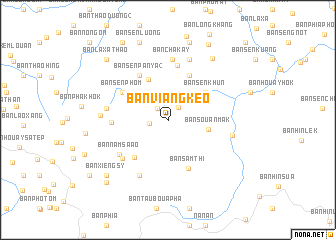 map of Ban Viangkèo