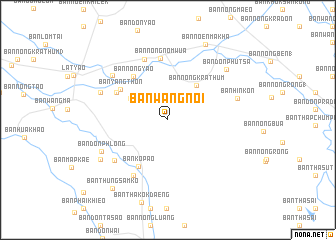 map of Ban Wang Noi