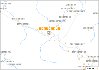 map of Ban Wang Wa