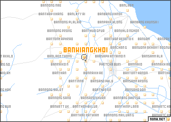map of Ban Wiang Khoi