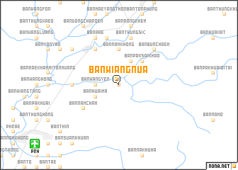 map of Ban Wiang Nua