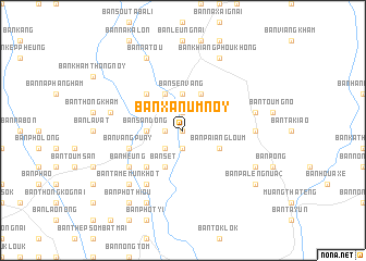 map of Ban Xanum Noy