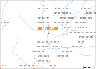 map of Ban Yan Yao