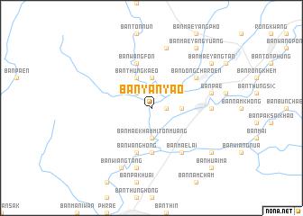 map of Ban Yan Yao