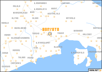 map of Banyata