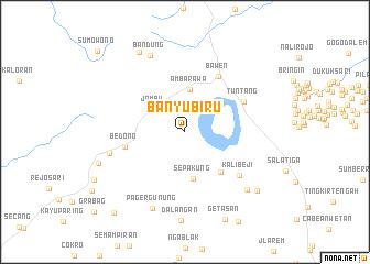 map of Banyubiru