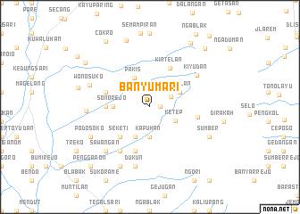 map of Banyumari