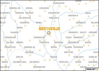 map of Banyurojo