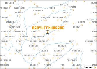 map of Banyutemumpang