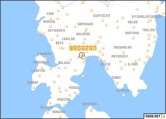 map of Baoaran
