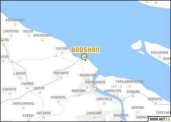 Baoshan China Map Nonanet - Baoshan map