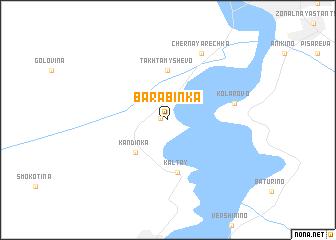 map of Barabinka