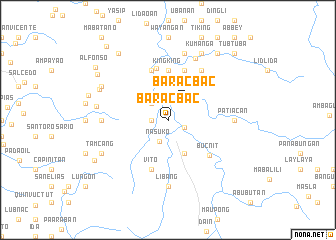 map of Baracbac