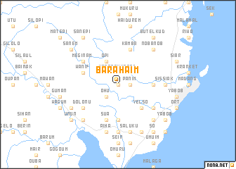 map of Barahaim