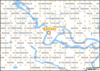 map of Bārāhi
