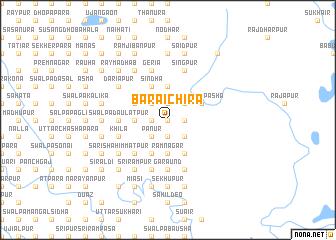 map of Bāraichira