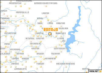 map of Baraja