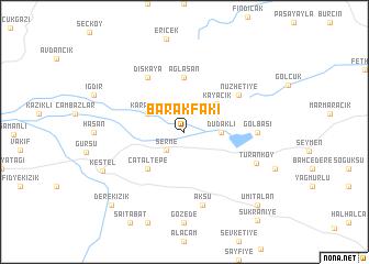 map of Barakfakı