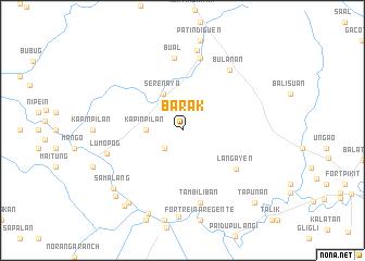 map of Barak