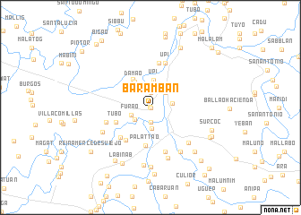 map of Baramban
