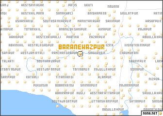 map of Bara Newāzpur