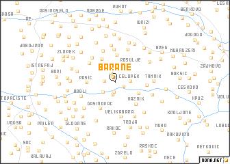 map of Barane