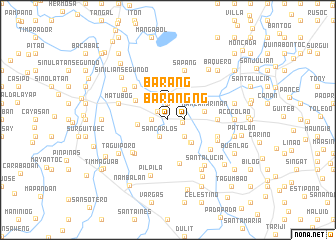 map of Barang