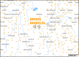 map of Barang