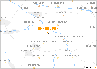 map of Baranovka