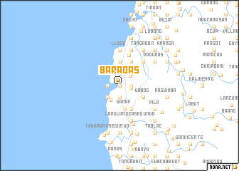 map of Baraoas