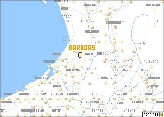 map of Baraoas