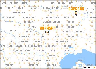 map of Barasan