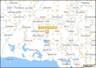map of Barasoain