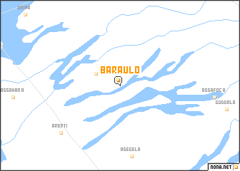 map of Baraulo