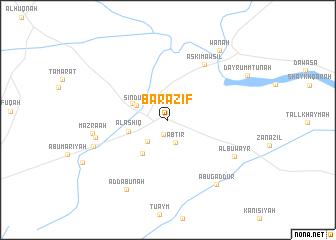 map of Barāzīf