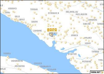 map of Bara