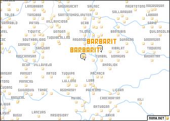 map of Barbarit