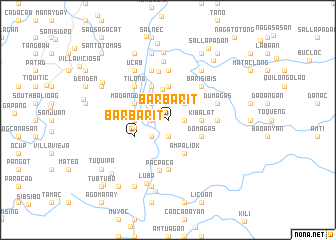 map of Barbarit
