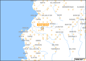 map of Barbar