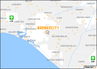 map of Barber City