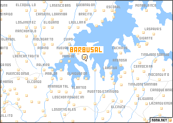 map of Barbusal