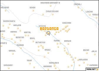 map of Bardānga