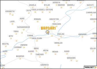 map of Bardarī
