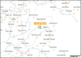 map of Bardias