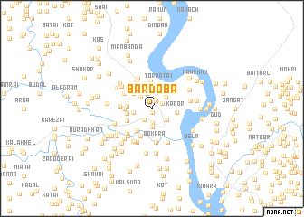 map of Bar Doba