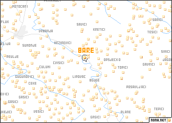 map of Bare
