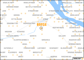 map of Barge
