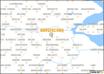 map of Bargischow