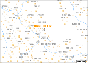 map of Bargullas
