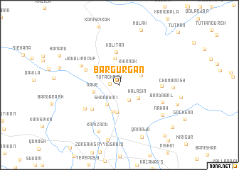 map of Bargurgan